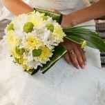 Buchet cu crizanteme