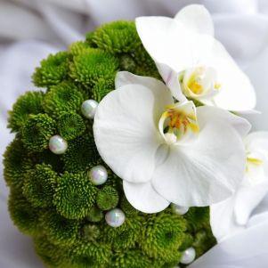 Buchet santini si Phalaenopsis