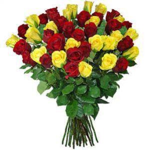 Trandafiri galbeni si...