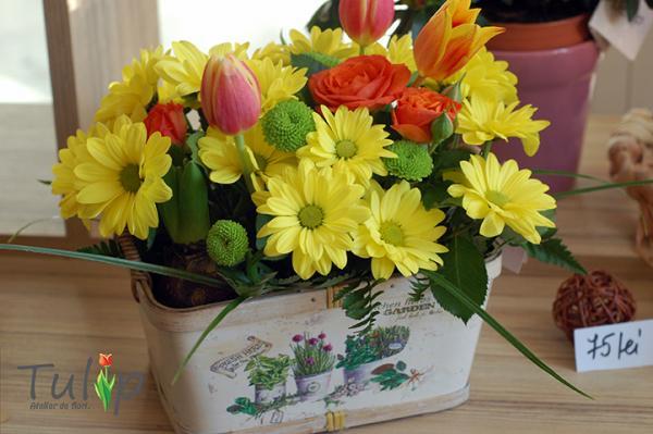 Buchete de flori pentru Ioane și Ionele