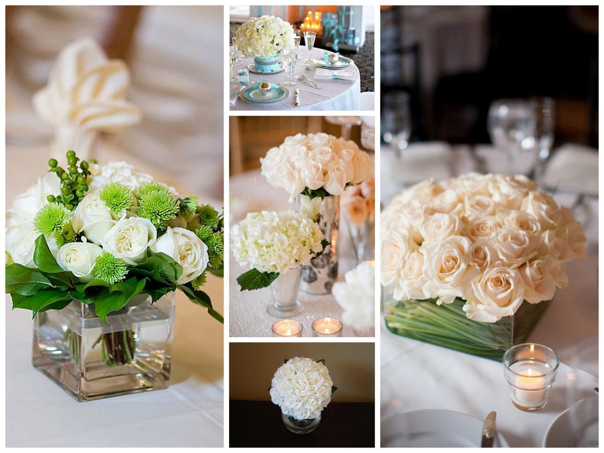 Aranjamente cu flori pentru mesele de la nunta ta