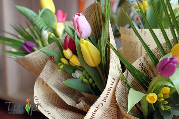 Ce aranjamente cu lalele te așteaptă la Tulip