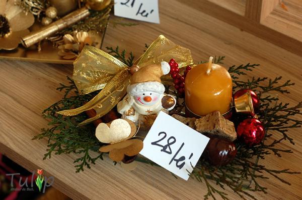 Decorațiuni de Crăciun originale în atelierul nostru de flori